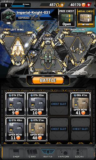 Space Knights 0.2.1 APK MOD screenshots 1