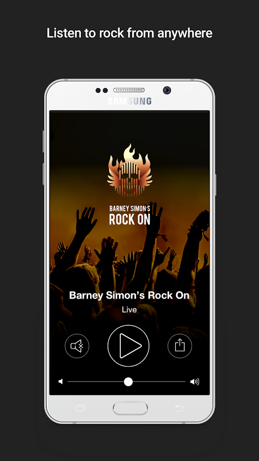 Barney Simon's Rock On- screenshot