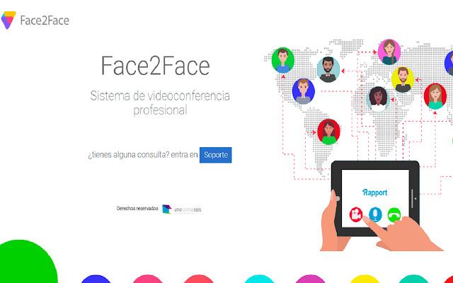 Face2Face Compartir Pantalla