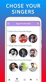 Sing Free Karaoke - Sing & Record All Free Karaoke Screenshot
