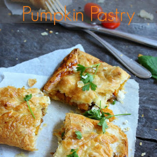 Caramelised Onion and Pumpkin Pastry