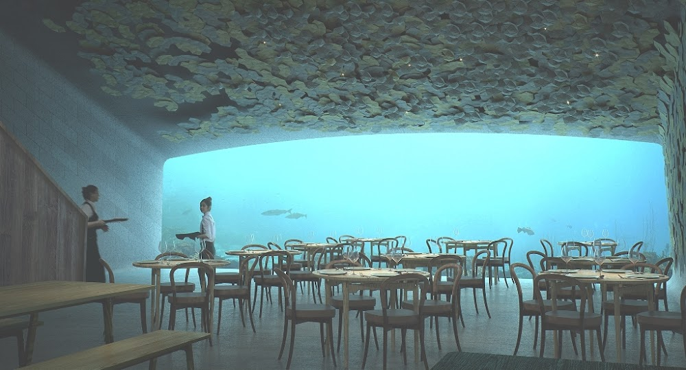 World's largest underwater restaurant is now open – here's a glimpse of it