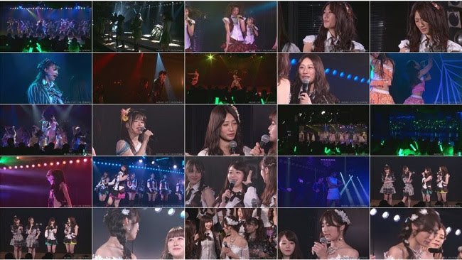 190107 (720p) AKB48 込山チームK 「RESET」公演 藤田奈那 卒業公演