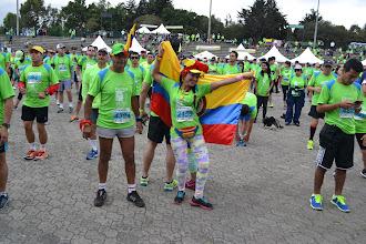 Photo: Que viva Colombia verde