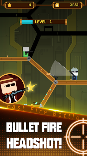 Fast Fire Battle-Kill the enemy & Climb to the top - screenshot