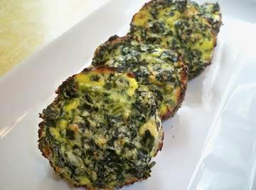 Spinach Mini Quiche