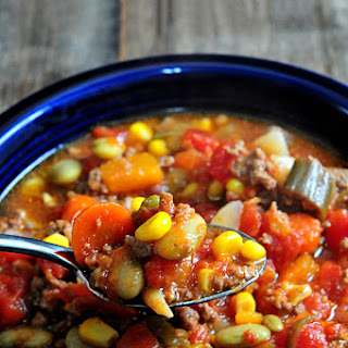 Slow Cooker Vegetable Soup.