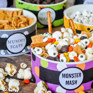 Monster Mash - A Fun and Easy Halloween Trail Mix