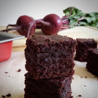 Roasted Beet Chocolate Brownies
