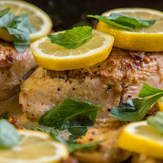 One-Skillet Lemon Garlic Chicken
