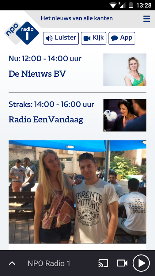 NPO Radio 1- screenshot