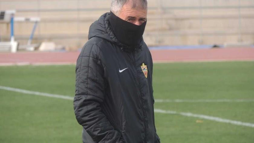 Lucas pidió al presidente un cambio radical en el Almería,