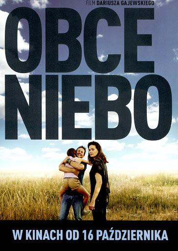 Przód ulotki filmu 'Obce Niebo'