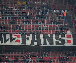 Strengere coronamaatregelen voor het Belgische voetbal? Komende drie weken wellicht geen supporters welkom in de stadions