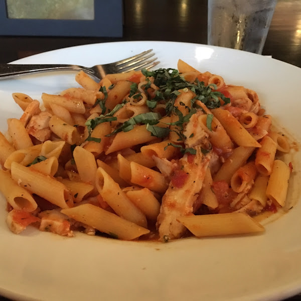 Penne Promorodo with Chicken