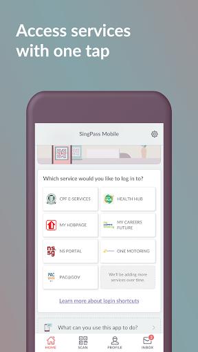 SingPass Mobile screenshot 3