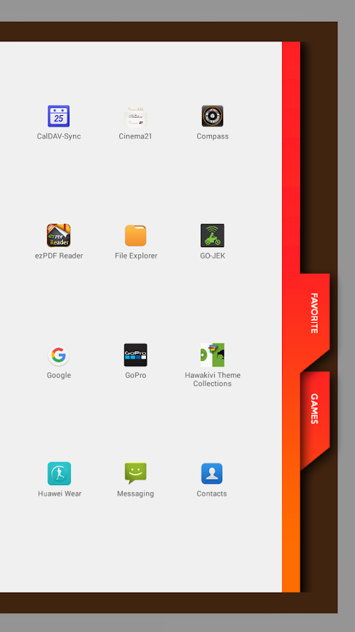 Agenda2 for Total Launcher- screenshot