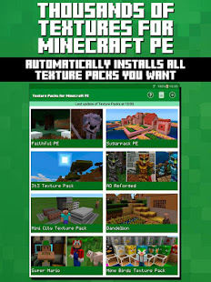 Texture Packs for Minecraft PE APK for Bluestacks
