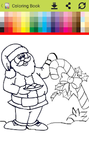 Coloring book for christmas 2018 - náhled