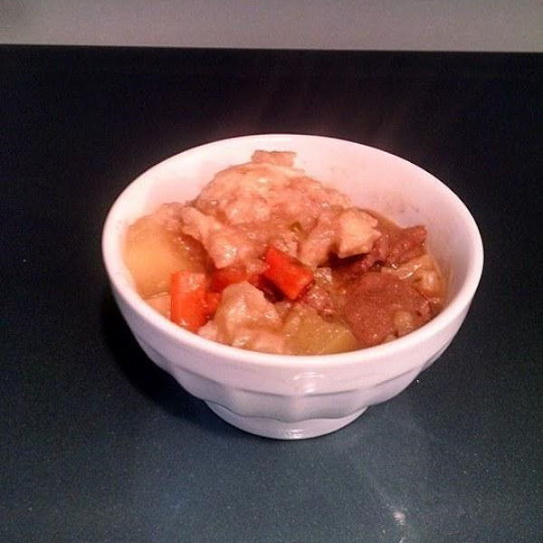 Beef Or Venison Stew With Dumplings Recipe