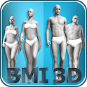 BMI 3D - Body Mass Index and body fat in 3D icon