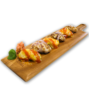 55. Grilled Scallop Sushi