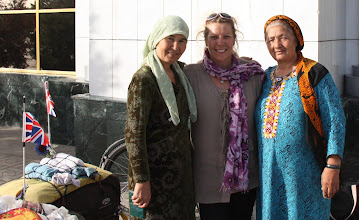Photo: Day 160 - Lovely Ladies I met at the Train Station in Mary #2