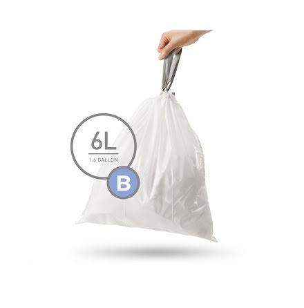 Avfallspåsar till Simplehuman 3 x pack med 30 påsar(90-påsar)  TYP B