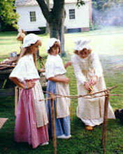 Photo: Living history at Beaufort Restoration Grounds