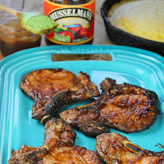 Sweet and Spicy Barbecue Pork Chops