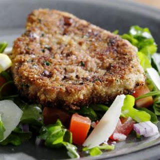 Cube Steak Milanese.