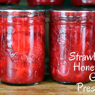 Strawberry, Honey and Ginger Preserves.