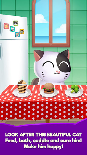 My Cat Mimitos 2 – Virtual pet with Minigames  captures d'écran 3