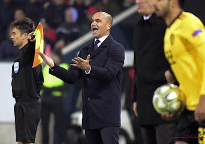 Martinez nomme cinq joueurs de D1A qui ont une chance d'aller à l'Euro et il se fait du souci au sujet d'un Diable Rouge