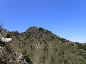 鎌ヶ岳を見返す