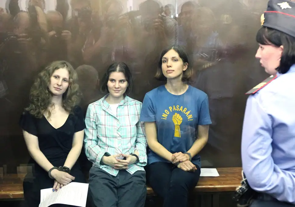 photo of pussy riot members
