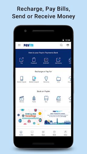 Payments, UPI, Bank Account, QR Scanner screenshot 1