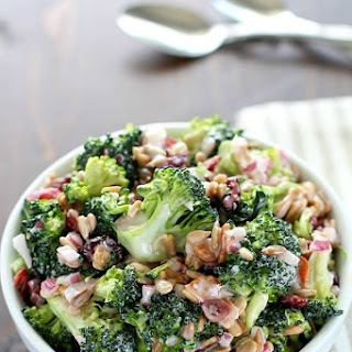 Creamy Broccoli Salad.