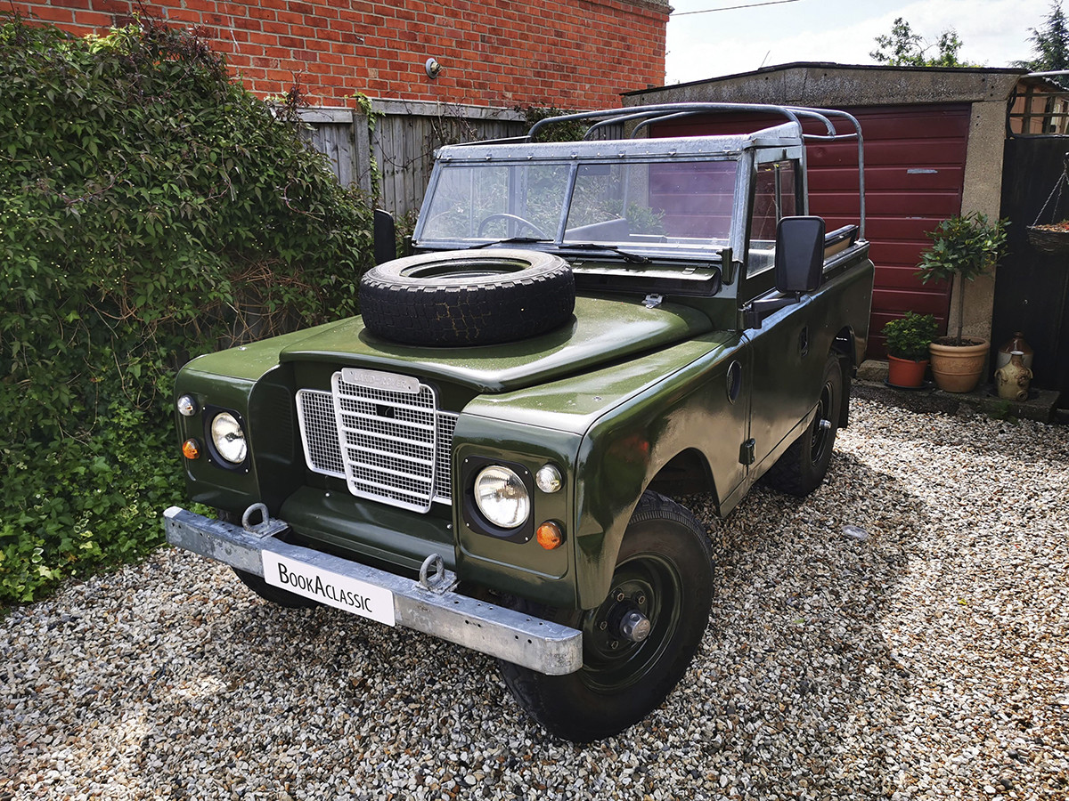 Land Rover Series 3 Hire Thatcham