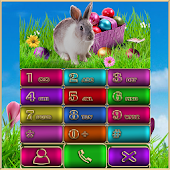 Happy Easter EX Dialer theme