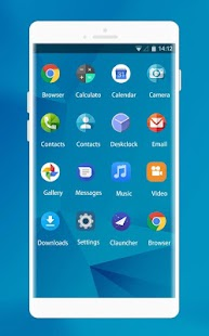 Theme for Micromax Canvas Fire 5 HD - náhled