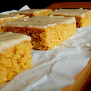 Iowa Pumpkin Sheet Cake.