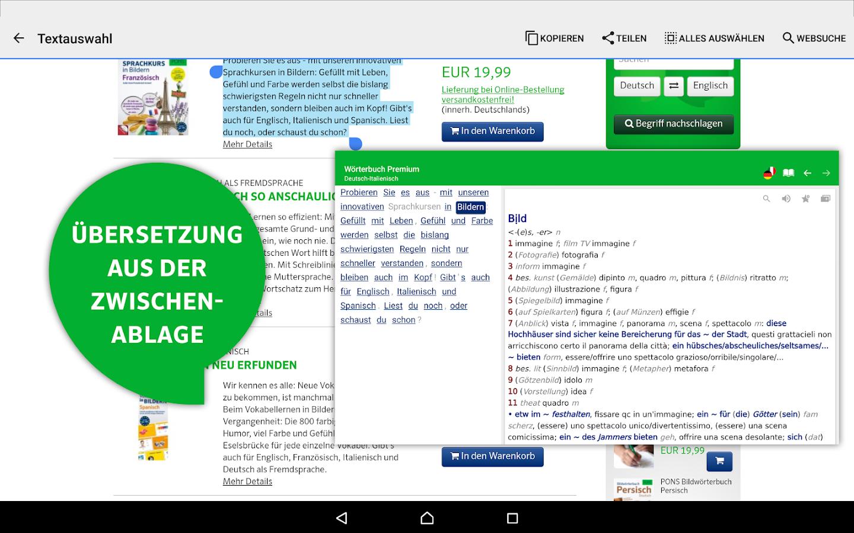 deutsch italienisch übersetzer app