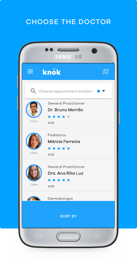 knok - doctors on demand- screenshot