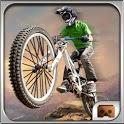 VR - MTB Downhill bicycle racing : VR Bicycling icon