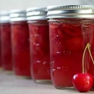 Boozy Amaretto Cherry Jam