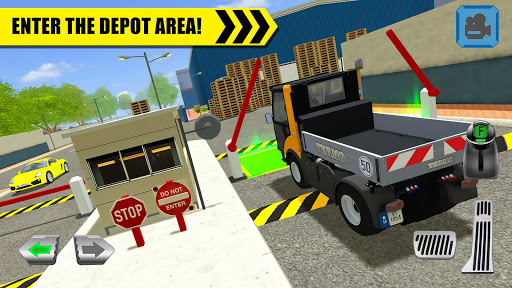 Truck Driver: Depot Parking Simulator 1.1 screenshots 1