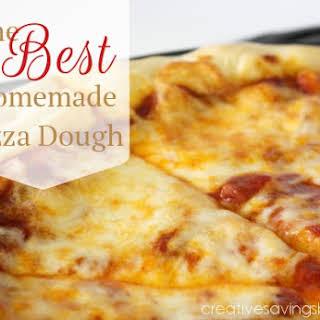 The Best Homemade Pizza Dough.