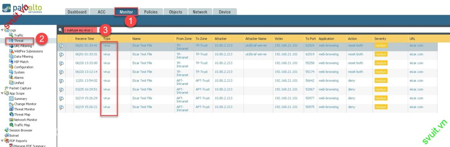 configure Security Profile Firewall Palo Alto (10)