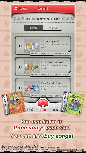 Pokémon Jukebox screenshot 3
